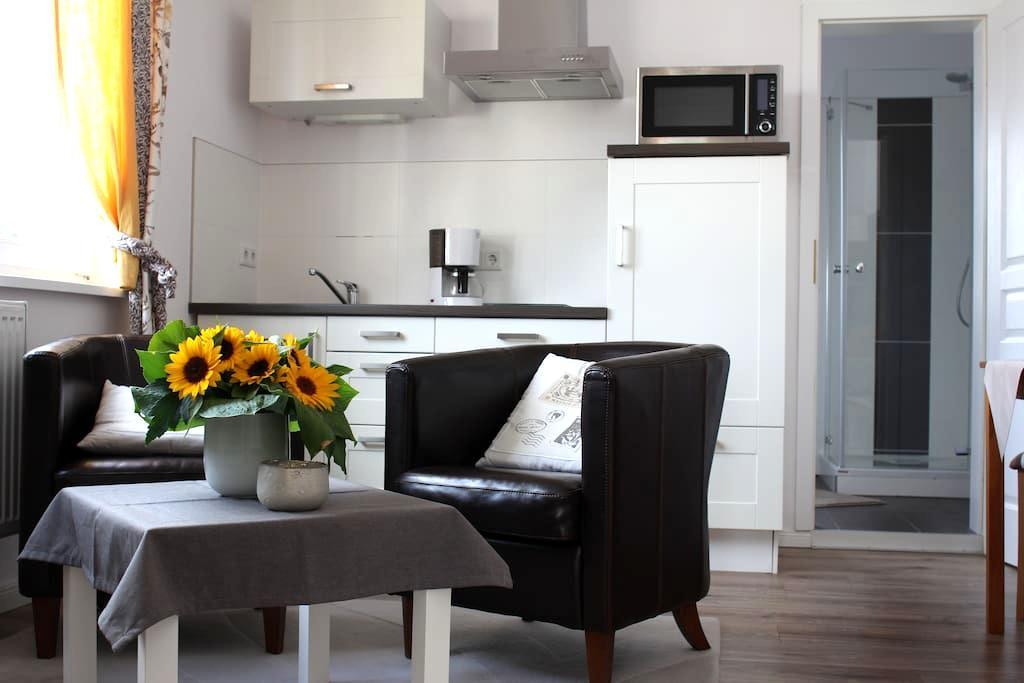 Zentrales Apartment zum Wohlfühlen - Oldenburg - Apartment