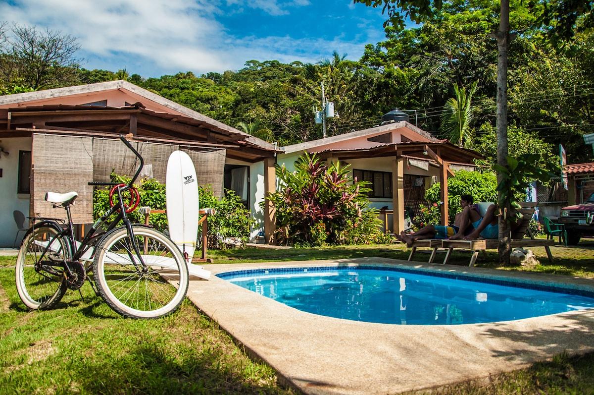 Garden Villa with a pool