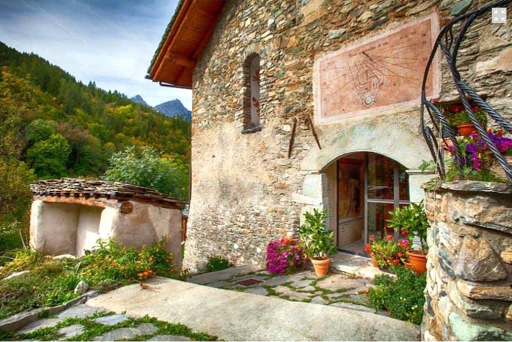 Villa in montagna (Valle maira) - Marmora - Квартира