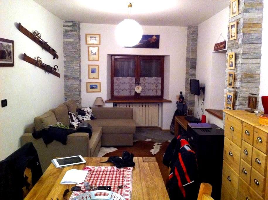 Appartamento in centro paese. - Cesana Torinese - Lägenhet