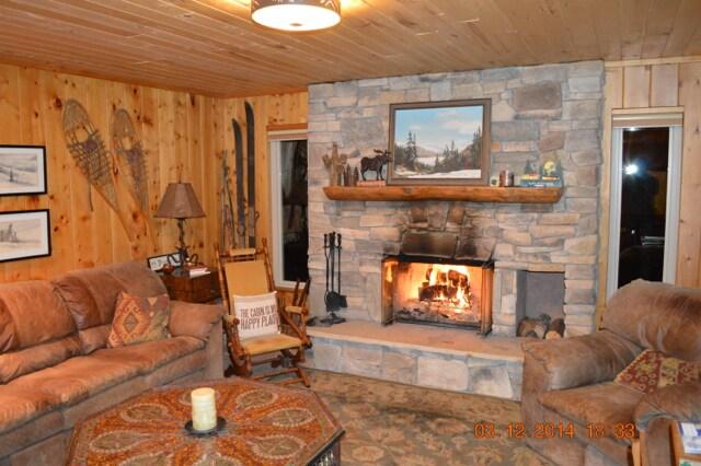 Cabin in the Colorado Rockies