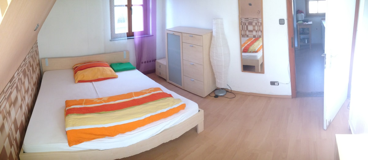 2-Bedroom appartment with garden