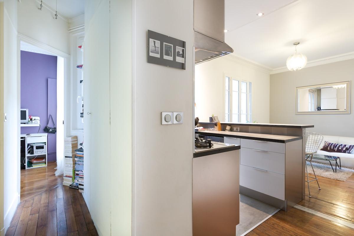 Modern 2 bedrooms Gates of Paris