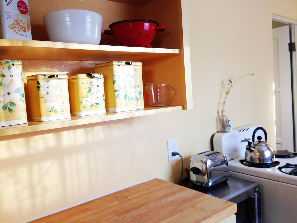 Eco house, fresh fruit & simplicity