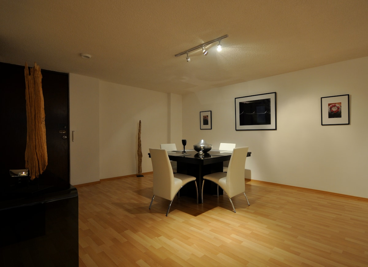 Dinning room ideal for a nice romantic dinner