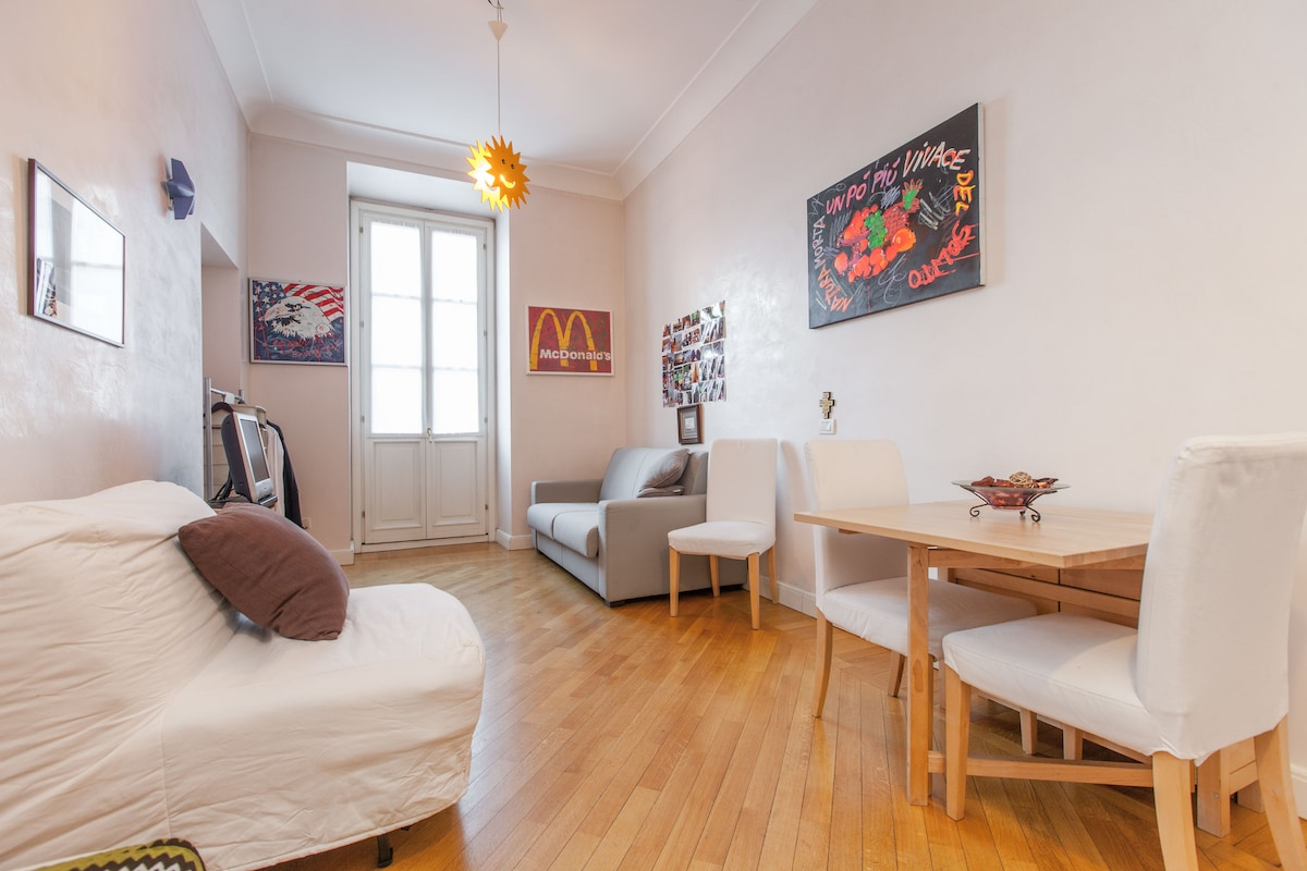 Your downtown apartment in Milan
