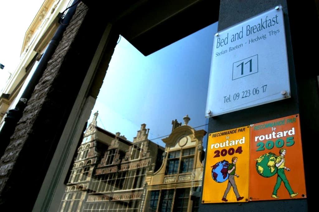 B&B in centrum bij Gravensteen  - Ghent - Bed & Breakfast