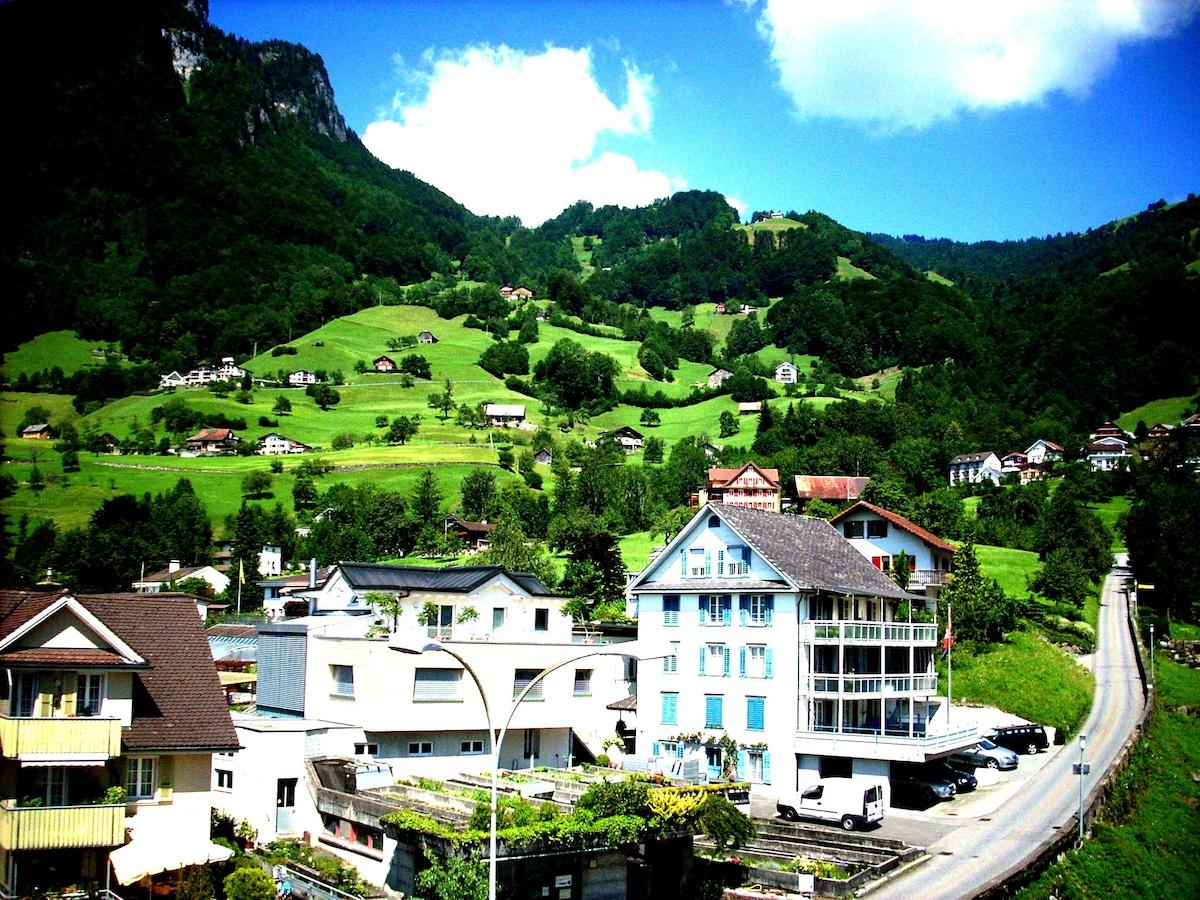 Rooms for rent at Gersau, Schwyz