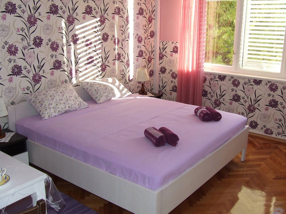 Comfortable real double bed for good rest