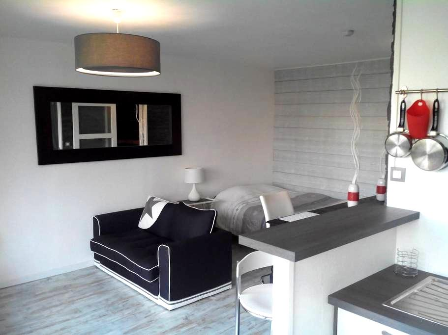 Beautiful studio 31m2 Gare-Alma - Rennes - 아파트