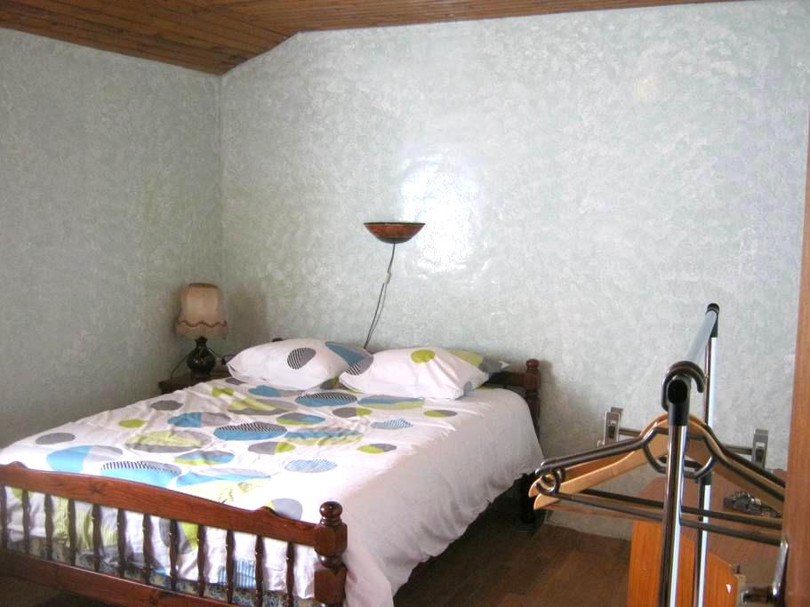 Chambre 2 à Huisnes-sur-Mer 7km du Mt St Michel - Huisnes-sur-Mer - Huis
