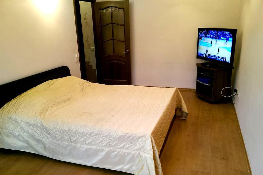 Уютная квартира-студия в центре - Krasnoyarsk - Daire