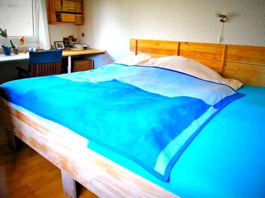 Zimmer mit Doppelbett, 11 qm - Wedel - House