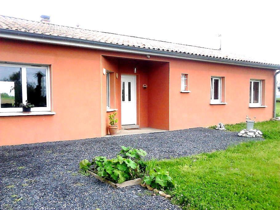 Maison contemporaine à la campagne - Marssac-sur-Tarn - House