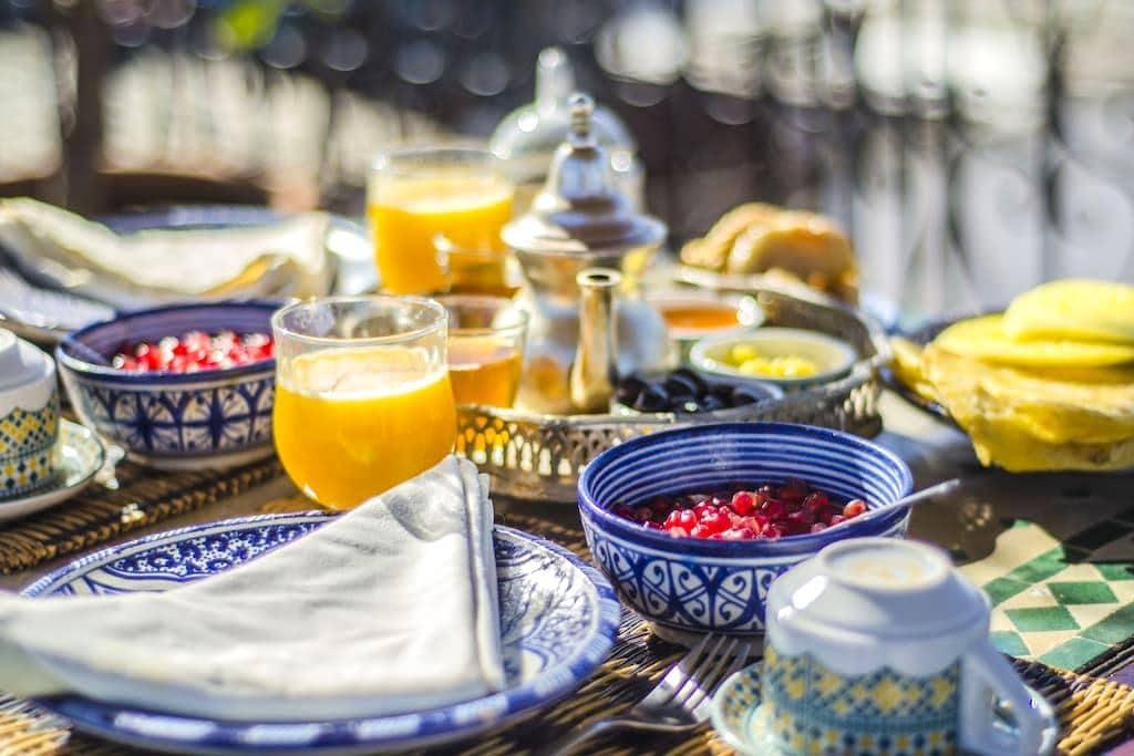 Chambre double avec petit déjeuner - Marrakesh - Penzion (B&B)