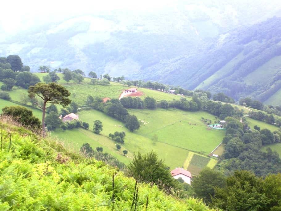 Casa en paraje rural - Ezkurra - Casa
