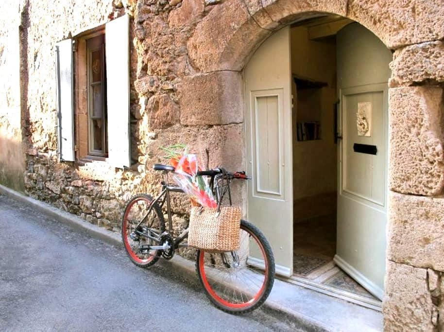L'Ecritoire   Romantic Medieval French house - Caunes-Minervois - Rumah