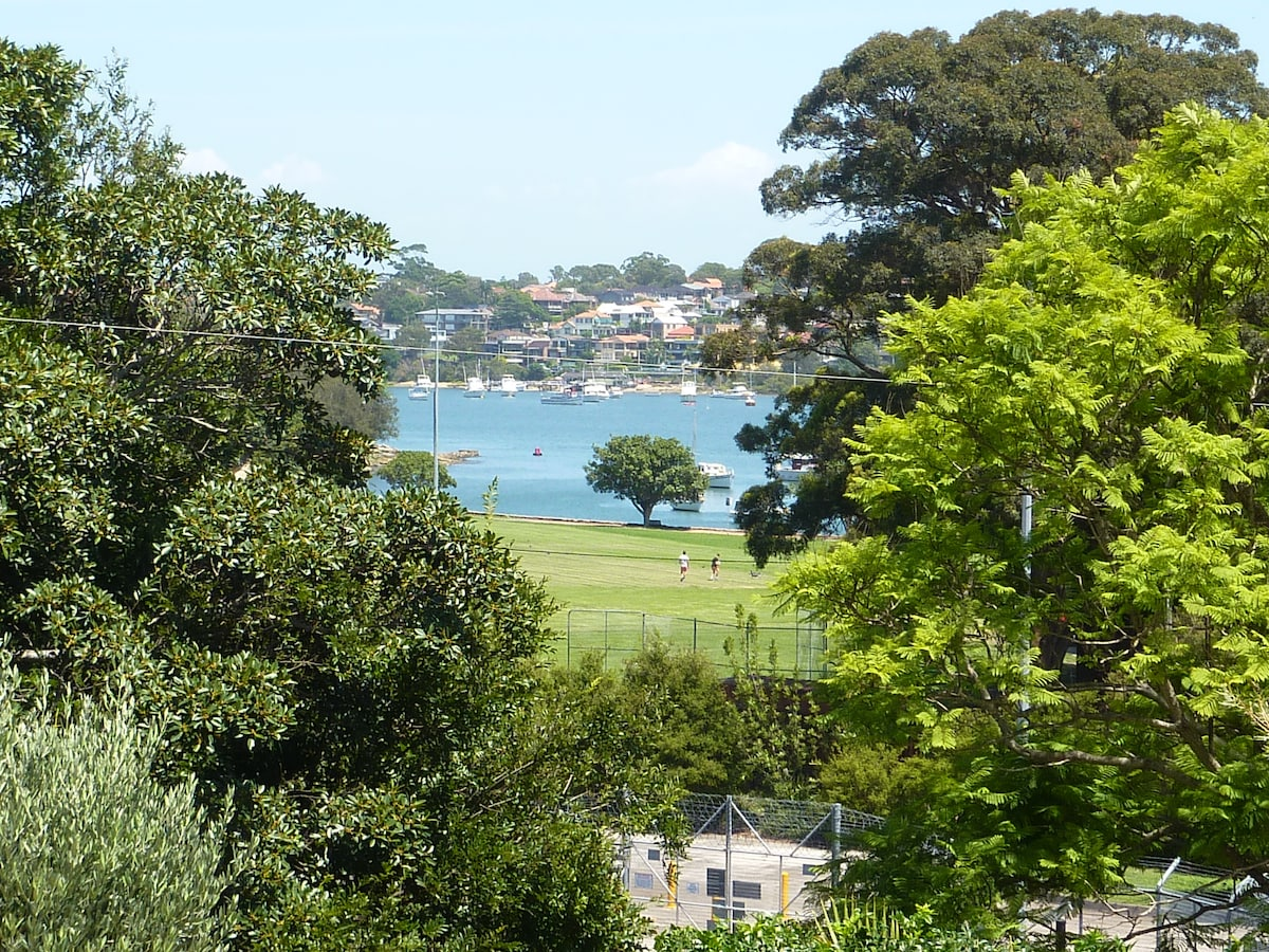 Rooms with a view in Rozelle Sydney
