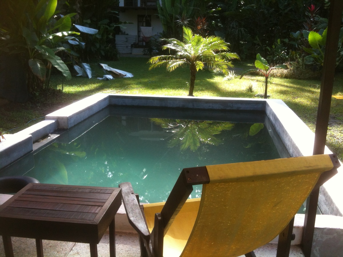 Our private swimming pool.