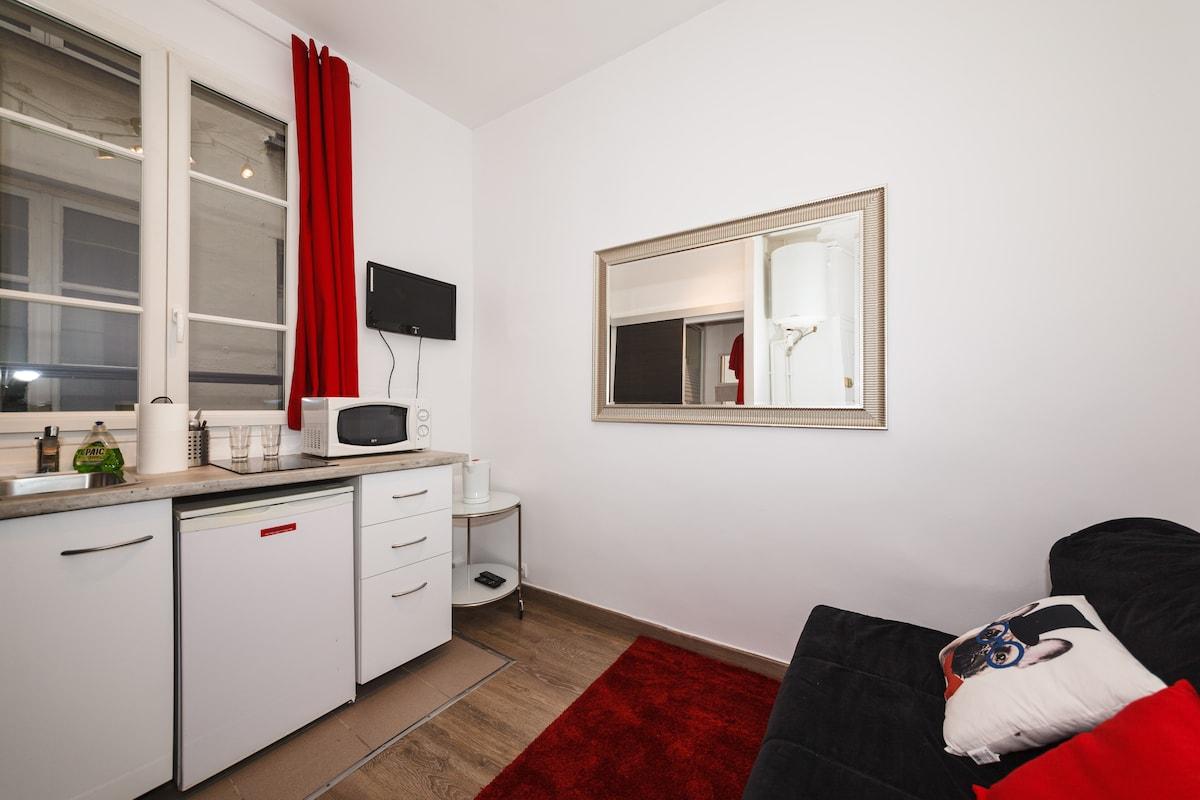 Снять квартиру в парижу в центре недорого