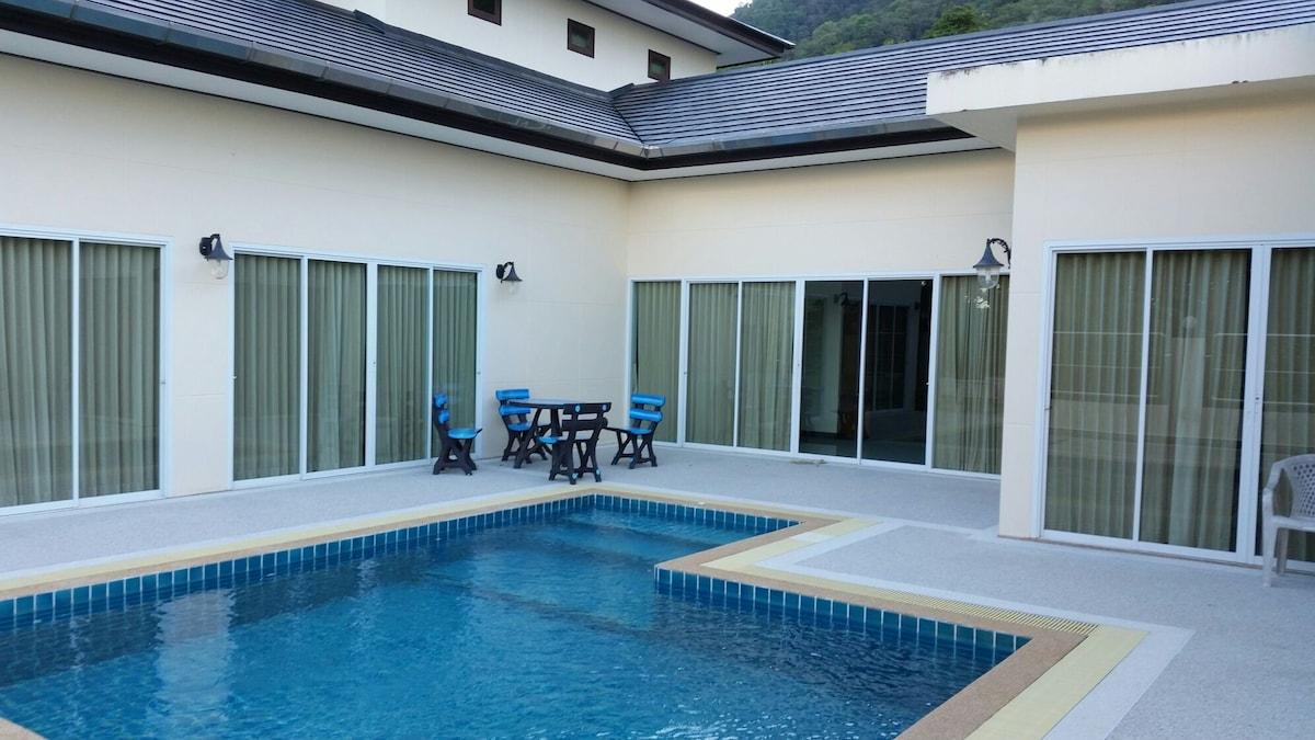 Private room #1 pool villa