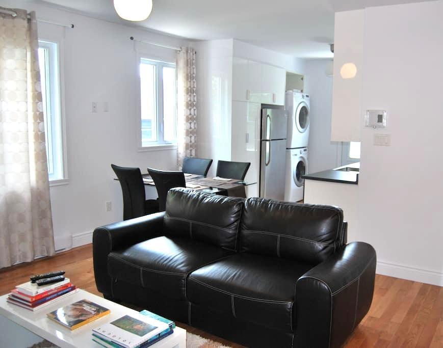 Appart. chic meublé,4 et demi, 2 ch - Montreal - Apartment