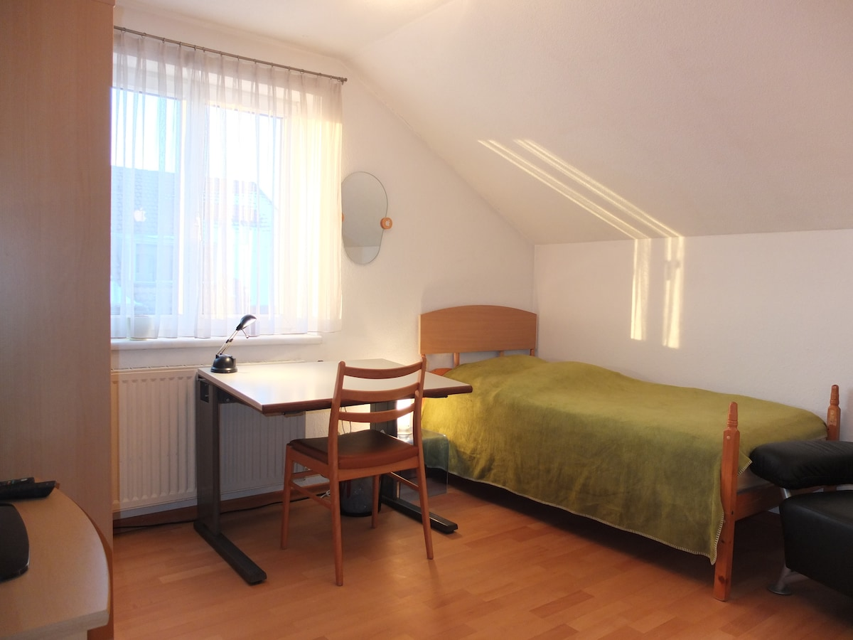 Single Room with WIFI and TV