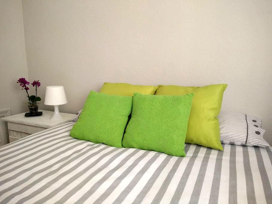 Habitación Doble Centro Ciudad con Wifi y Cocina - Santurtzi - Casa