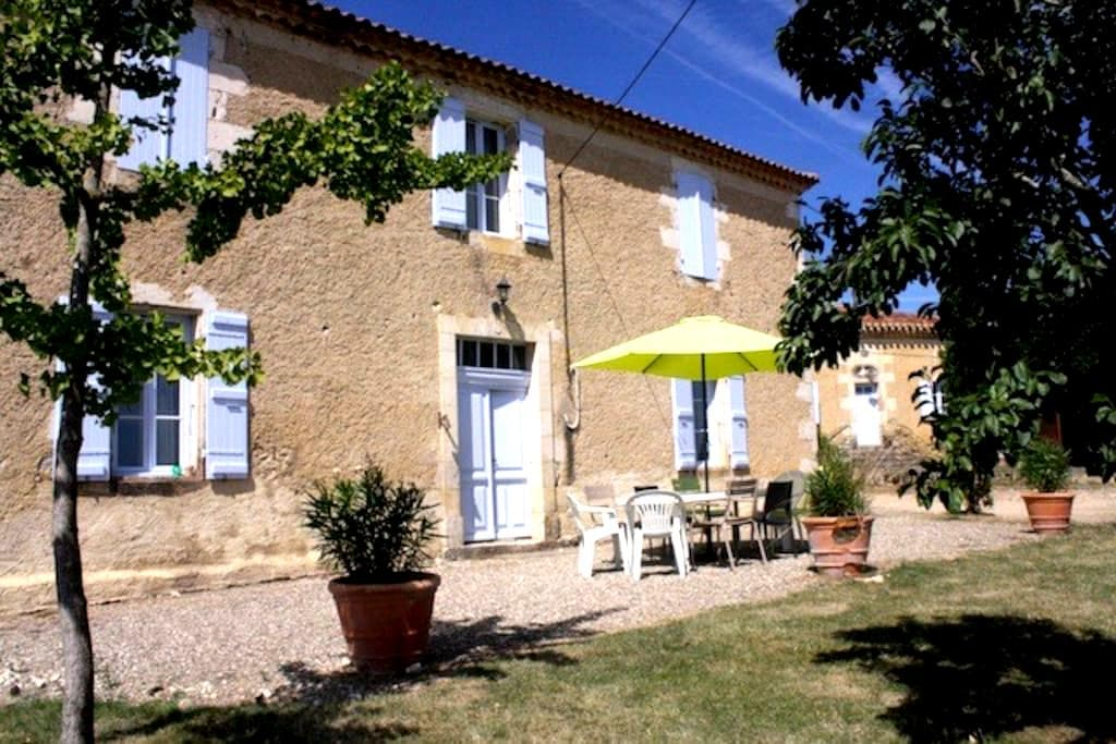 Gîte rural dans le Gers - Préchac - Casa
