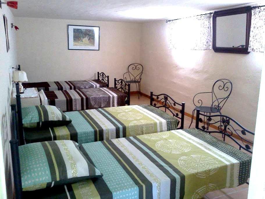 Chambre aux pieds du Mt Ventoux pour 4 personnes - Le Barroux - วิลล่า