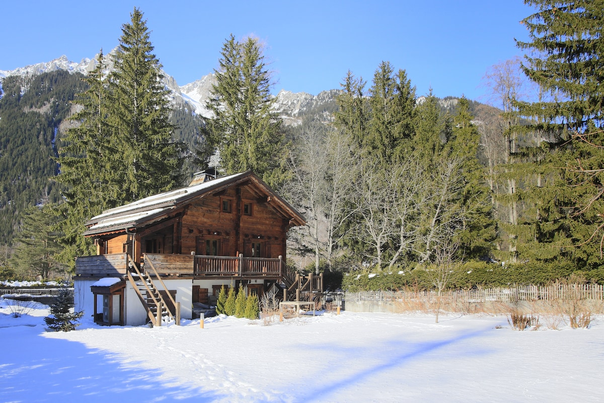 Chalet for 8 near the slopes
