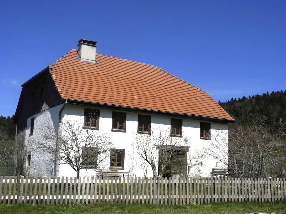 Spacious historic farmhouse - Saicourt - Huis