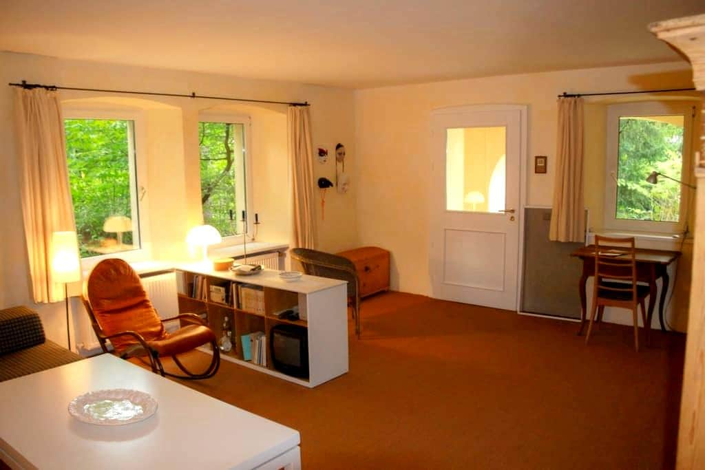 Friendly ancient Villa Greta - 49m2 - Weimar - Departamento