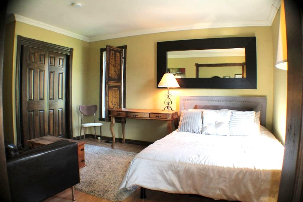 Belle chambre detente assurée petit dejeuner inclu - Grandes-Piles - Bed & Breakfast