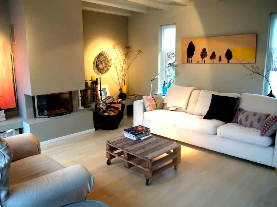 Charming, authentic family house near Amsterdam - Aalsmeer - Hus