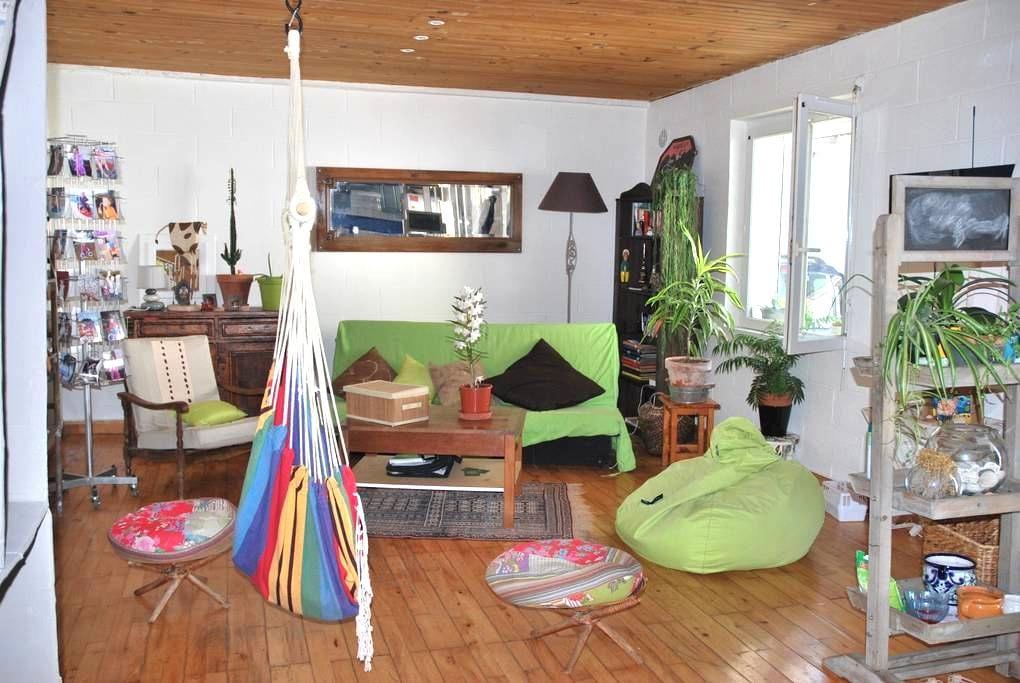 Chambre dans maison chaleureuse - Bizanos - Rumah