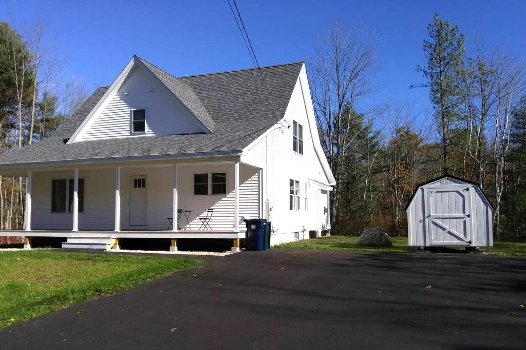 New Home, great location, 4 bedrooms, very quiet! - Biddeford - Casa