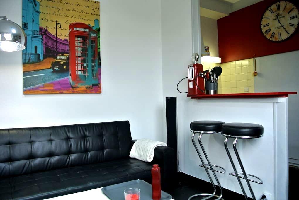 Bel appartement vintage avec jardin - Pessac - Lägenhet