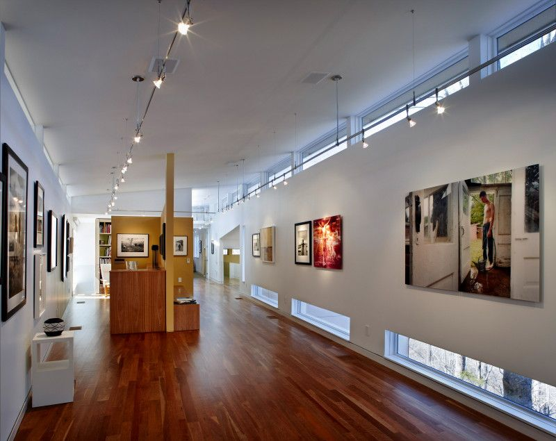 Adjacent photography gallery.