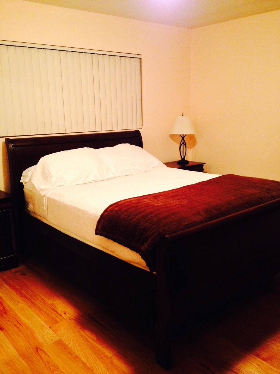Masters Bedroom with Queen Size bed
