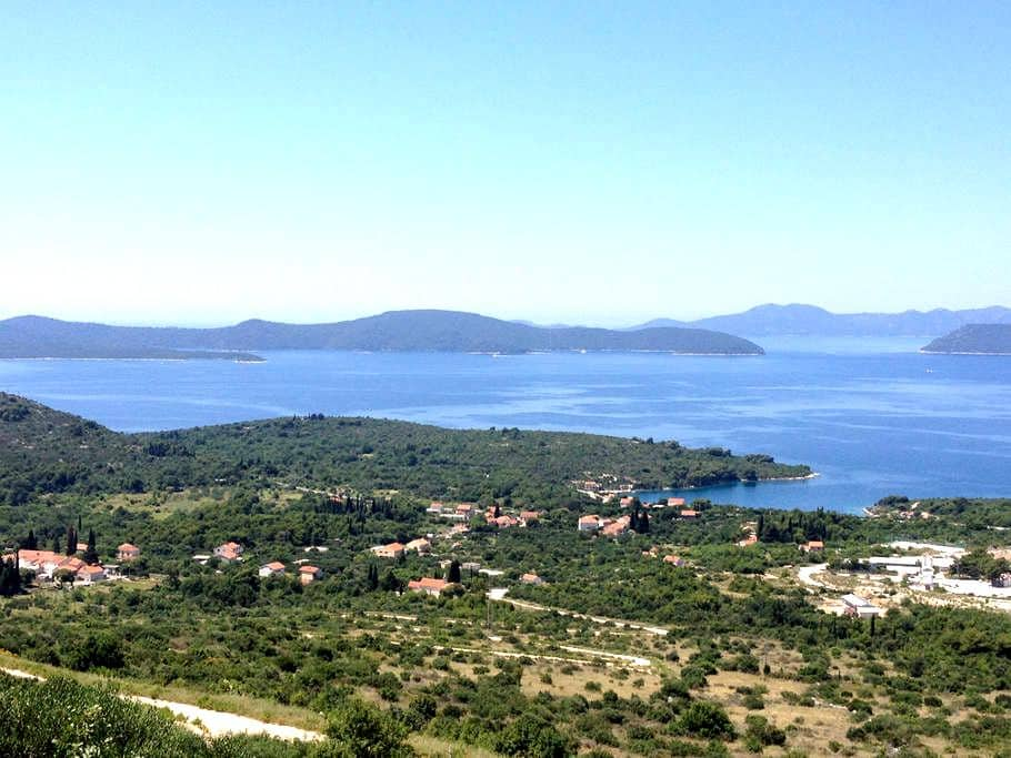 Cozy apartment near Dubrovnik, 500m from the sea - Banići - Apartament