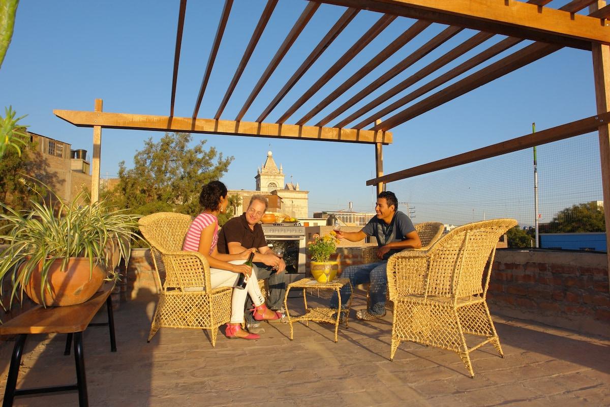 Amazing terrace & views!-Arequipa 2