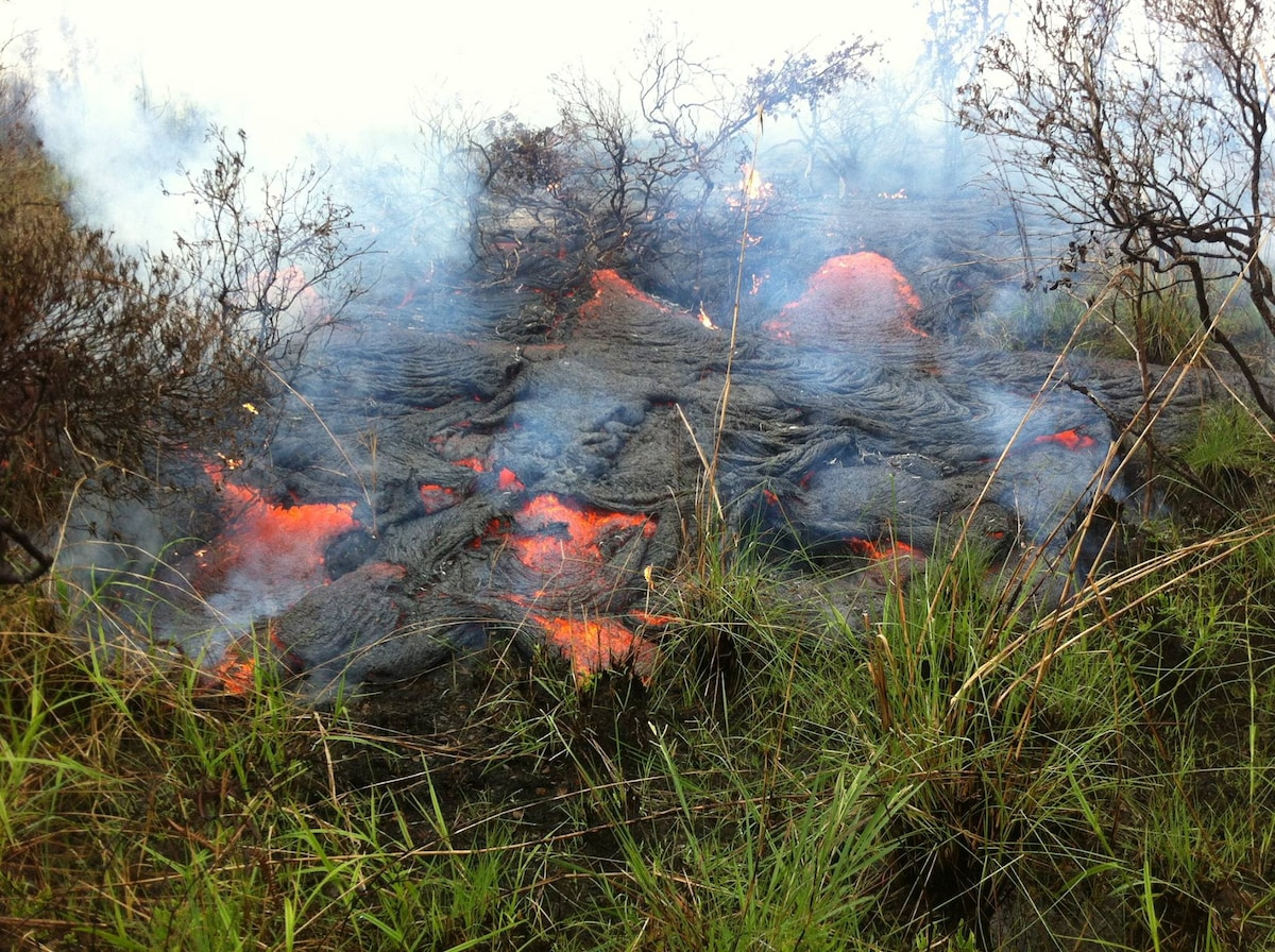 Lava Flow up close and personal