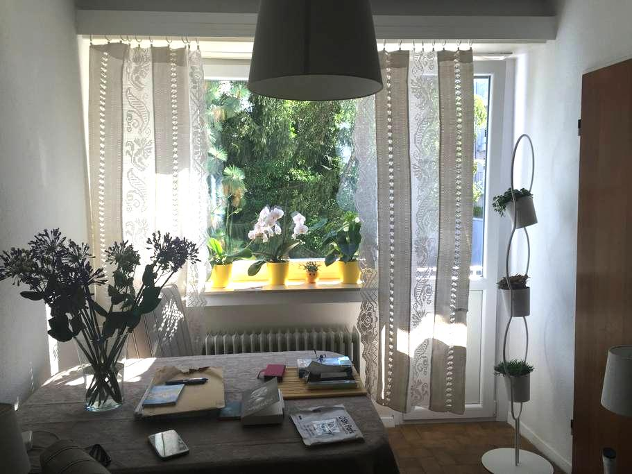 Welcome to my ideally located, cosy & quiet studio - Luxemburg - Lakás