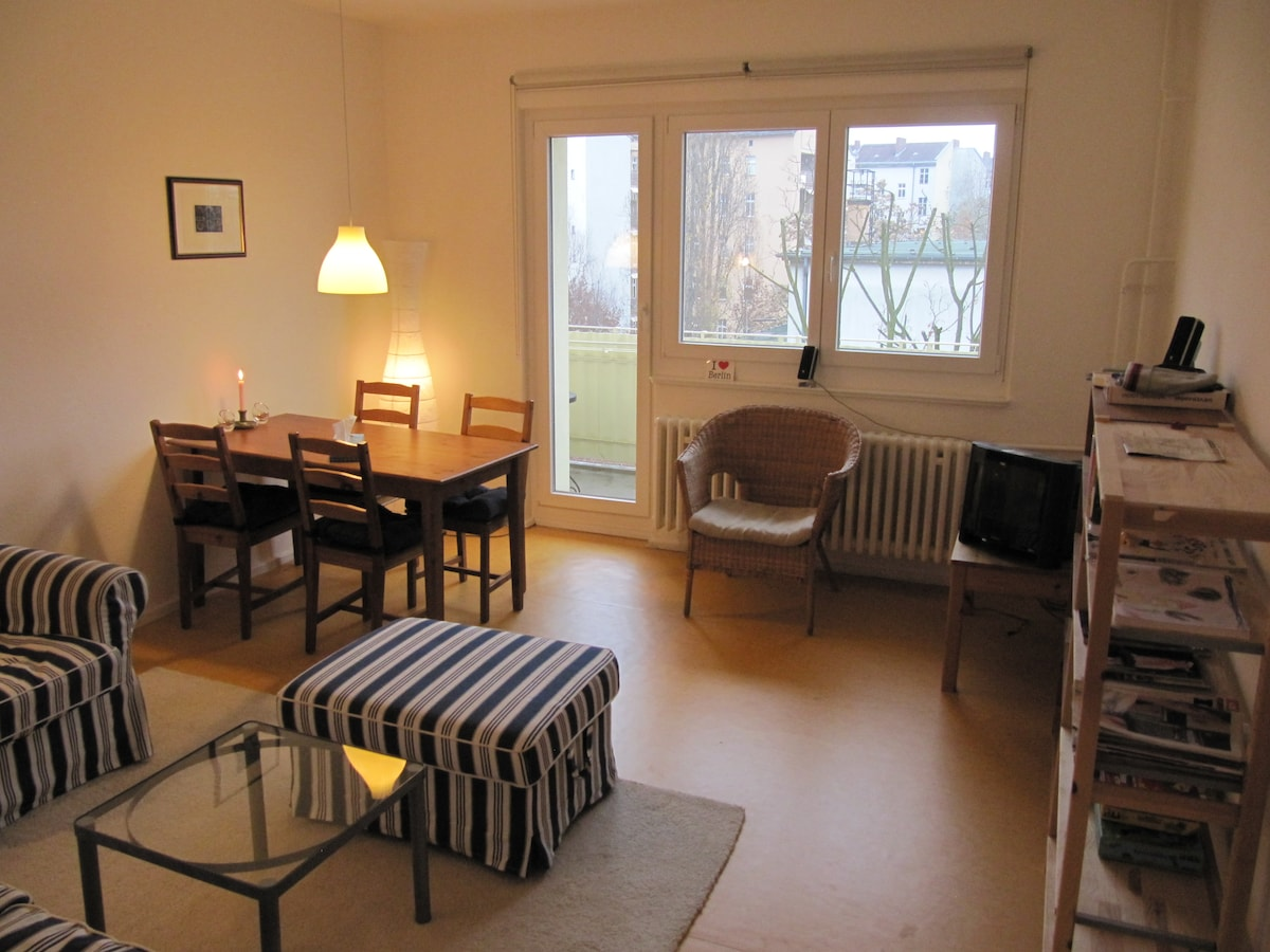 Bright 1bedroom flat - central&cosy