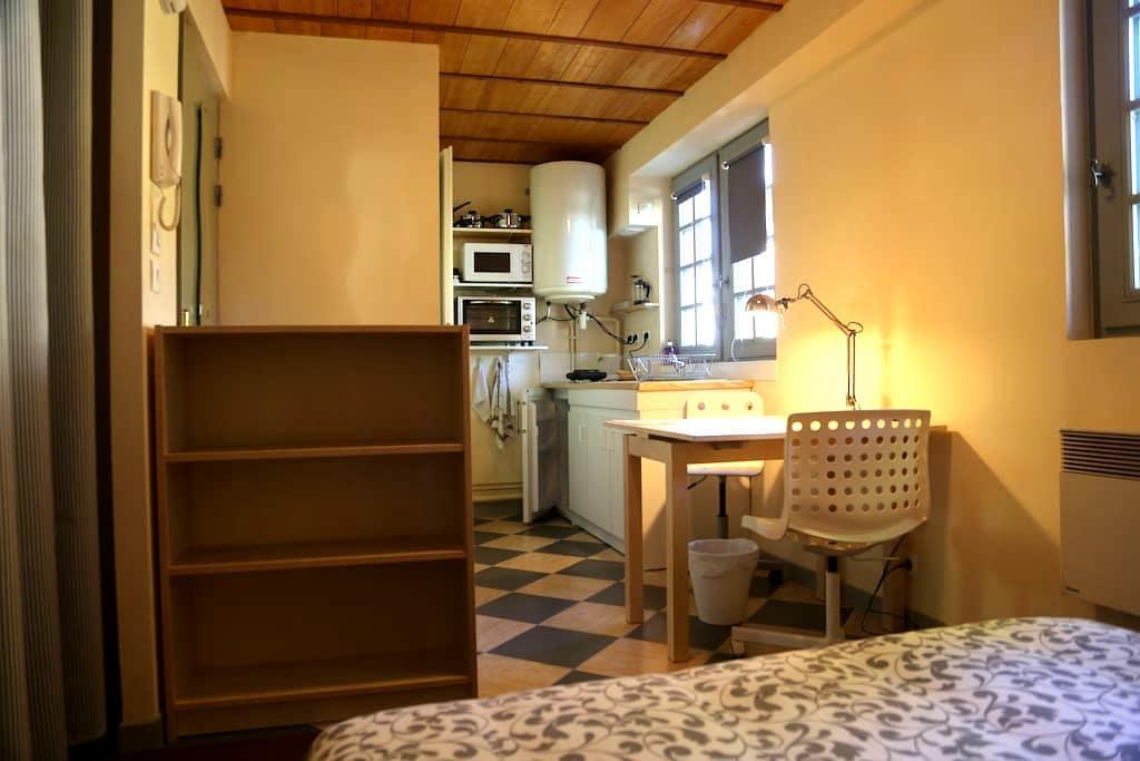 Studio meublé de 15m2 dans la Cité Plantagenêt - Le Mans - Apartment