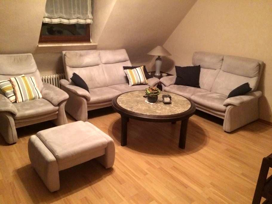 Gemütliche Ferienwohnung in Trier-Pfalzel - Trier - Apartmen