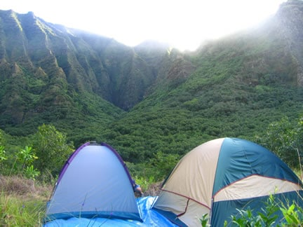 The Kalalau Campground Adventure 2