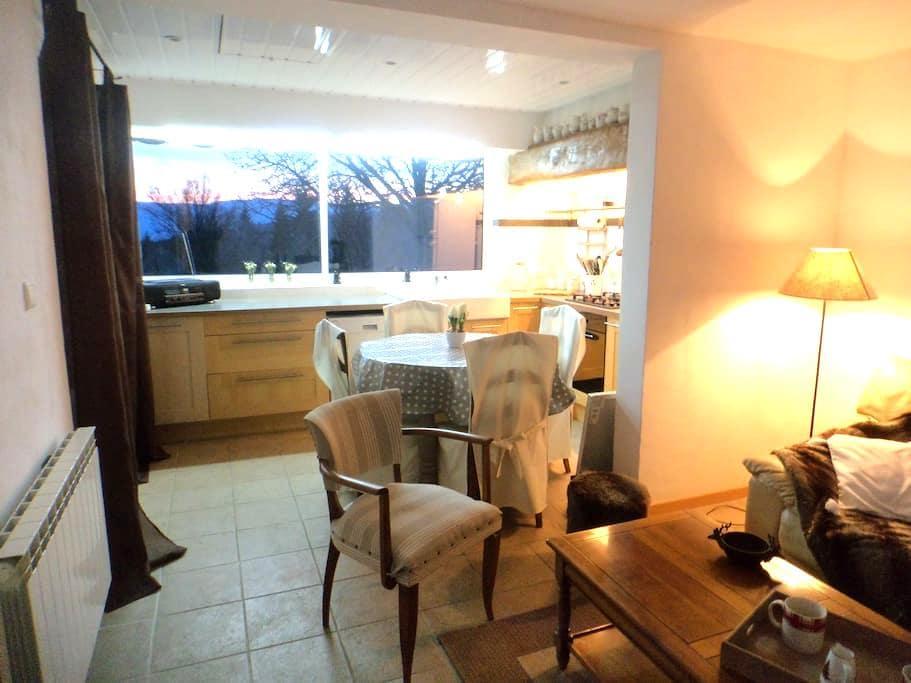 Appartement dans les monts du Jura - Échallon - Apartment