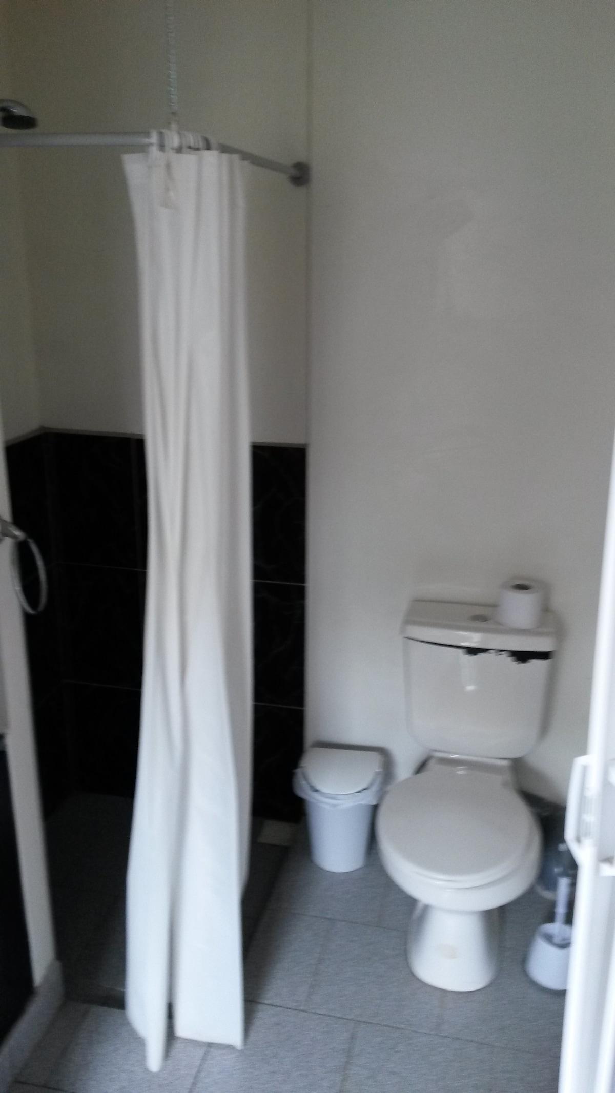 Chambre double, SDB privée